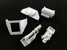 40K Imperial Guard Leman Russ Tank Front Hull Sponson + Weapons Assembly