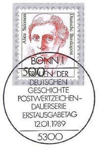 BRD-1989-Alice-Salomon-Nummer-1397-mit-dem-Bonner-Ersttags-Sonderstempel-1A