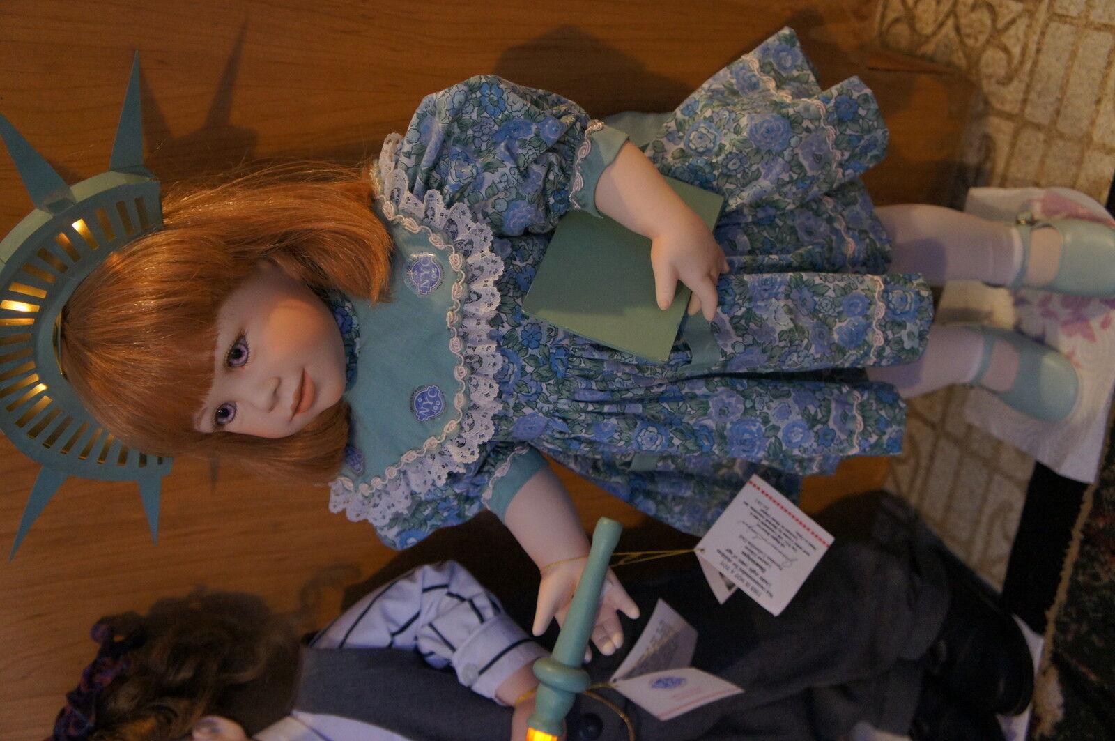 Porcelian Dolls to Celebrate New York 100 100 York Centennial in 1998 - Jeanne Singer 1af872