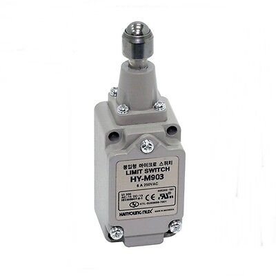 Top Ball Plunger type LIMIT SWITCH HY-M903 dual 1a 1b 250VAC 6A
