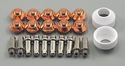 22pcs PCH-52 PCH-53 Pak5XR Plasma 9-5619 Electrode 9-5618 Tip 50A 9-5617 Shield