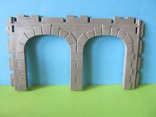 Playmobil Torbogen *DOPPELTORBOGEN* zum Museum 3449 Bahnhof 4300 3666 3667 RAR