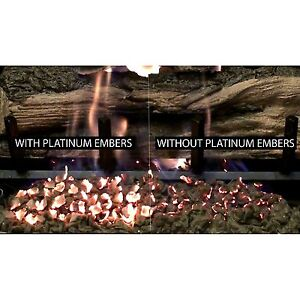 Gas Log /& Fireplace Platinum Bright Embers Glowing Embers PBE-5 New