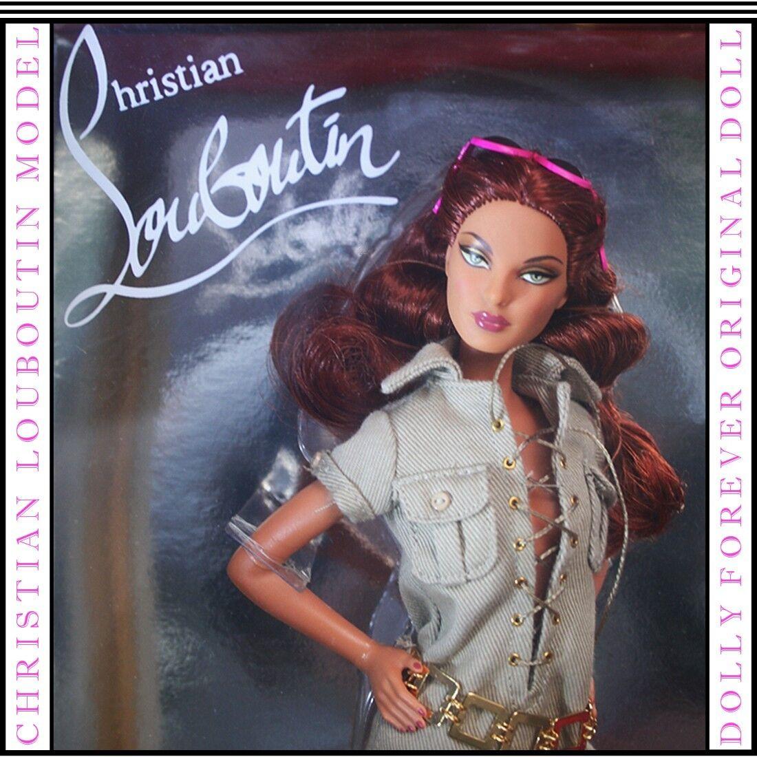 Christian Louboutin Dolly Para Siempre Muñeca Barbie para el coleccionista 2009 nuevo.. nunca quitado de la caja