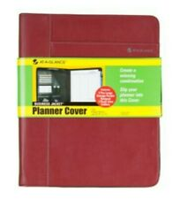 At A Glance Business Jacket Desk Planner Cover Red Maroon 10 X 12 Inch