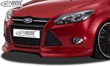 Ford Focus 3 - Front bumper spoiler