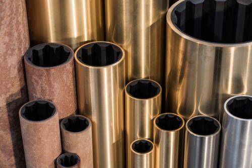 """Brass Shell 35mm shaft 1.875/"""" housing Aqualube Cutless Marine Cutlass Bearing"""