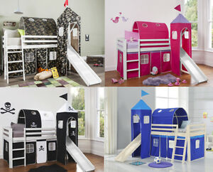 Image is loading TOWER-TUNNEL-&-TENT-for-Cabin-Bed-Choice- & TOWER TUNNEL u0026 TENT for Cabin Bed Choice of Colours TTT COMBO   eBay