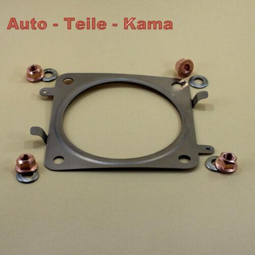 Auspuff Dichtung für Citroen Fiat und Peugeot Katalysator mit Montagematerial