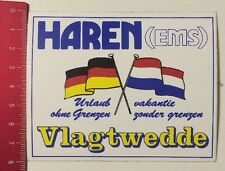 Aufkleber/Sticker: Haren (EMS) Vlagtwedde - Urlaub Ohne Grenzen (090416139)