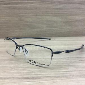 b55707dc2a Image is loading Oakley-Lizard-Titanium-Eyeglasses-Polished-Midnight -OX5113-0451-