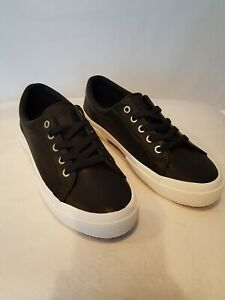 Leather Lace-up Sneakers Sz 8B