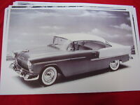 1955 Chevrolet Bel Air Hardtop 11 X 17 Photo / Picture