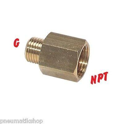 Druckluftkupplung Stecknippel DN7,2 mit zölligem Aussengewinde