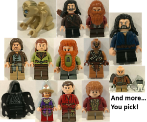 The Hobbit /& The Lord of the Rings Custom mini figure sets fit lego