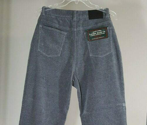 12 Lauren velluto in a Donna Ralph Pantaloni Jeans coste Taglia Co Hole Stretch Jackson S61nAwqRx