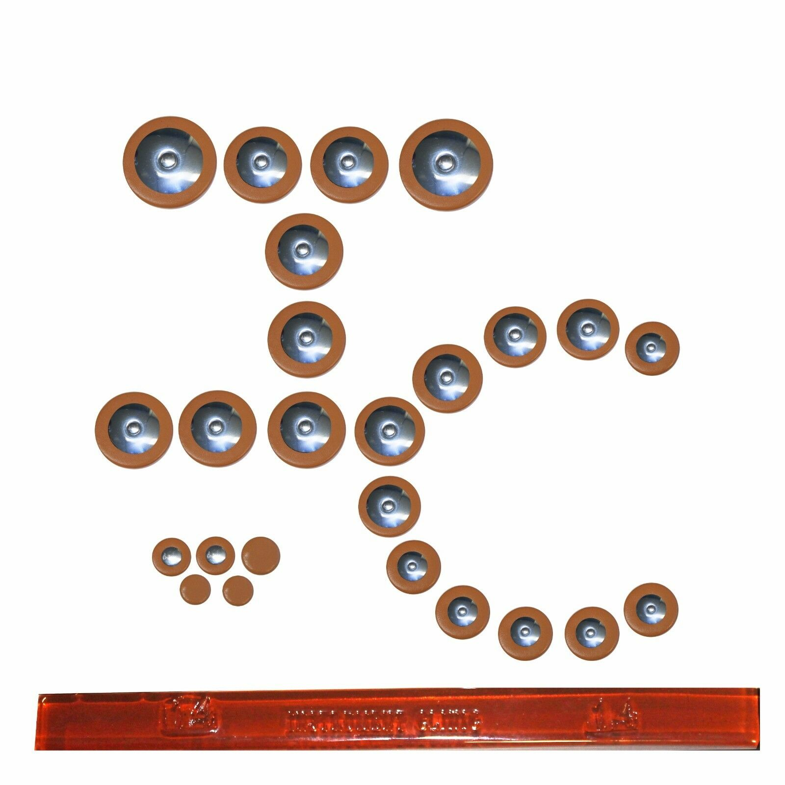 IC Premium Sax Pads, Tenor Saxophone Pad Set, Made in USA  Email Größes