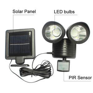 22LED-solaire-Lampe-exterieure-jardin-lumiere-securite-PIR-capteur-mouvement