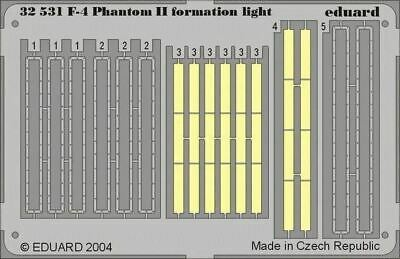 Nouveau 1:32 Eduard 32531 McDonnell F-4 Phantom II-Formation lumières couleur gravée