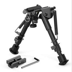 "Harris Style Spring Return Zweibein 6/""bis 9/"" Sling Swivel Tilt-Level Pivot Rifle"