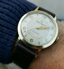 Superba Gents 9ct GOLD Smiths IMPERIAL modello I.507 CAL 0140 c.1960