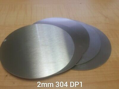 Multi Sizes 304 Stainless Steel Round Discs Sheet Metal Precision Laser Cut
