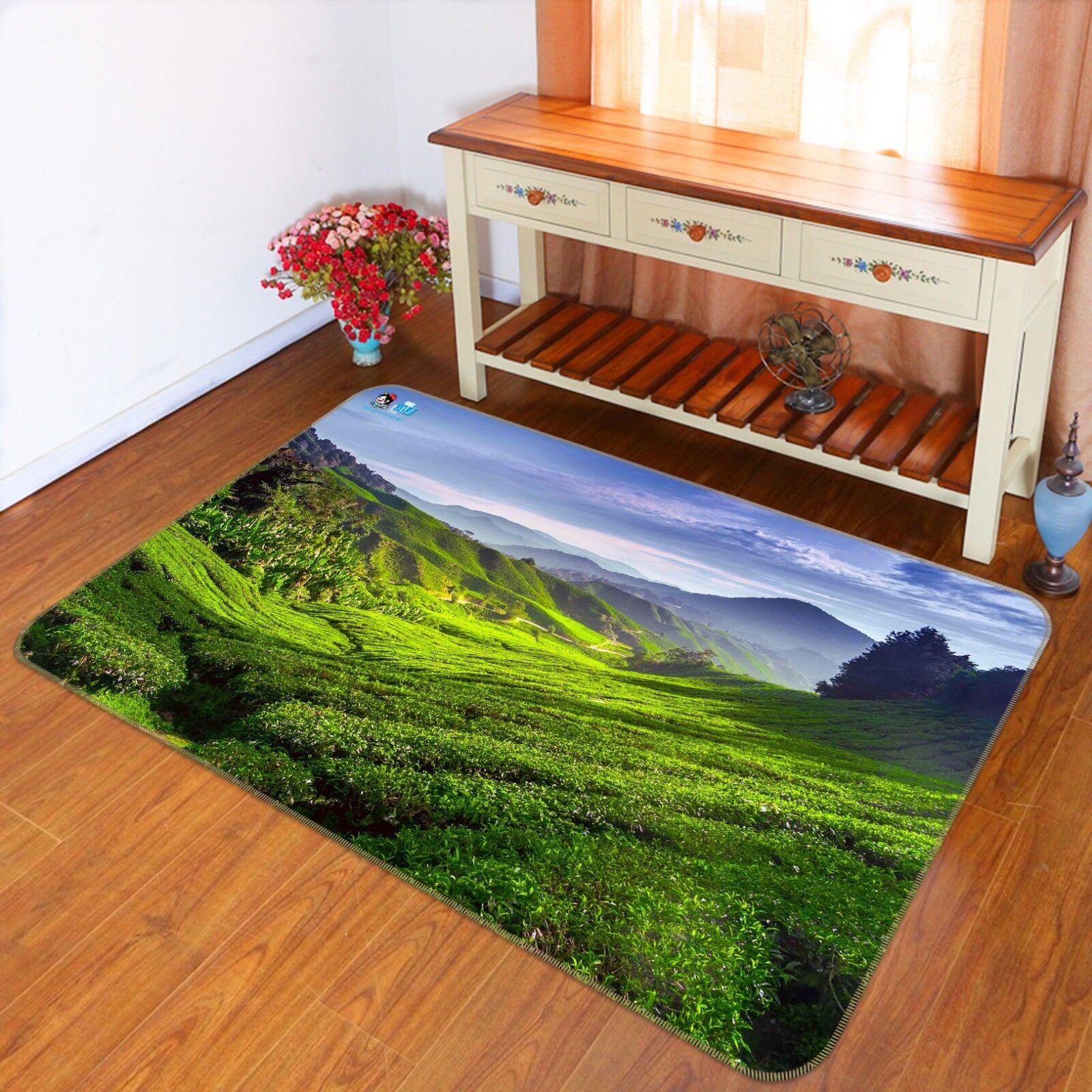 3D prato di montagna 897 tappetino antiscivolo tappeto camera Tappetino Qualità Elegante foto Tappeto UK