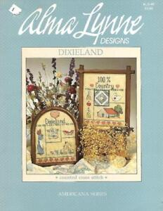 Dixieland-Americana-Series-Alma-Lynne-Designs-for-Counted-Cross-Stitch-1985
