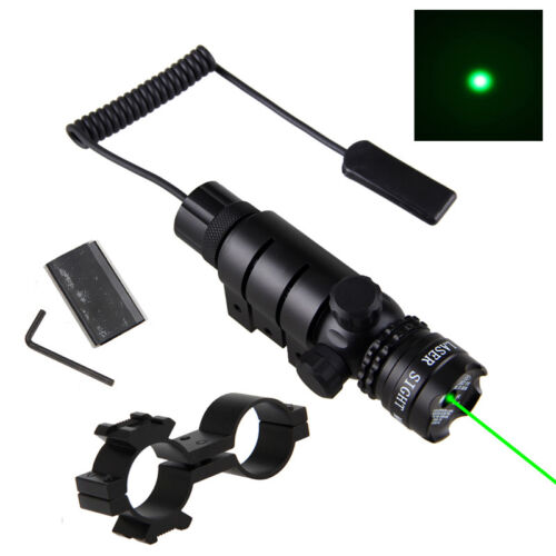 Red//Green Tactical Dot Laser Sight Light Scope Mount Remote Switch For Rifle Gun