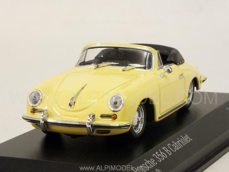 Porsche 356B Cabriolet 1960 Condor Yellow 1:43 MINICHAMPS 400064334