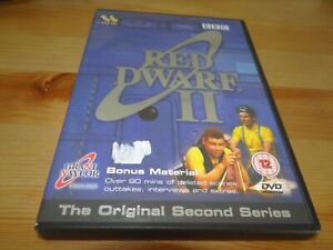 RED-DWARF-II-THE-ORIGINAL-SECOND-SERIES-2-TWO-DVD-BARGAIN-PRICE