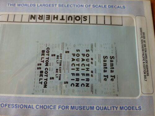 "Airslide Microscale Decal N  #60-503 Assorted Freight-/""Hopper 100-ton 50/'"