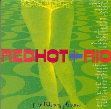 Red Hot + Rio by Various Artists (CD, Oct-1996, Antilles) Free Ship #KN31