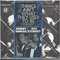 JOHNNY-HODGES-REX-STEWART-Things-ain-039-t-UK-Press-Mono-LP