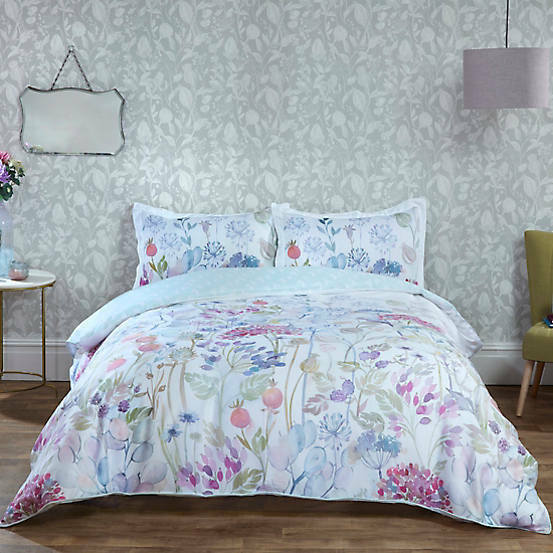 Hedgerow Floral Country Print Bedding