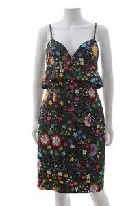 Victoria-Victoria-Beckham-Kick-Start-Flower-Printed-Dress-Multi-RRP-850-00