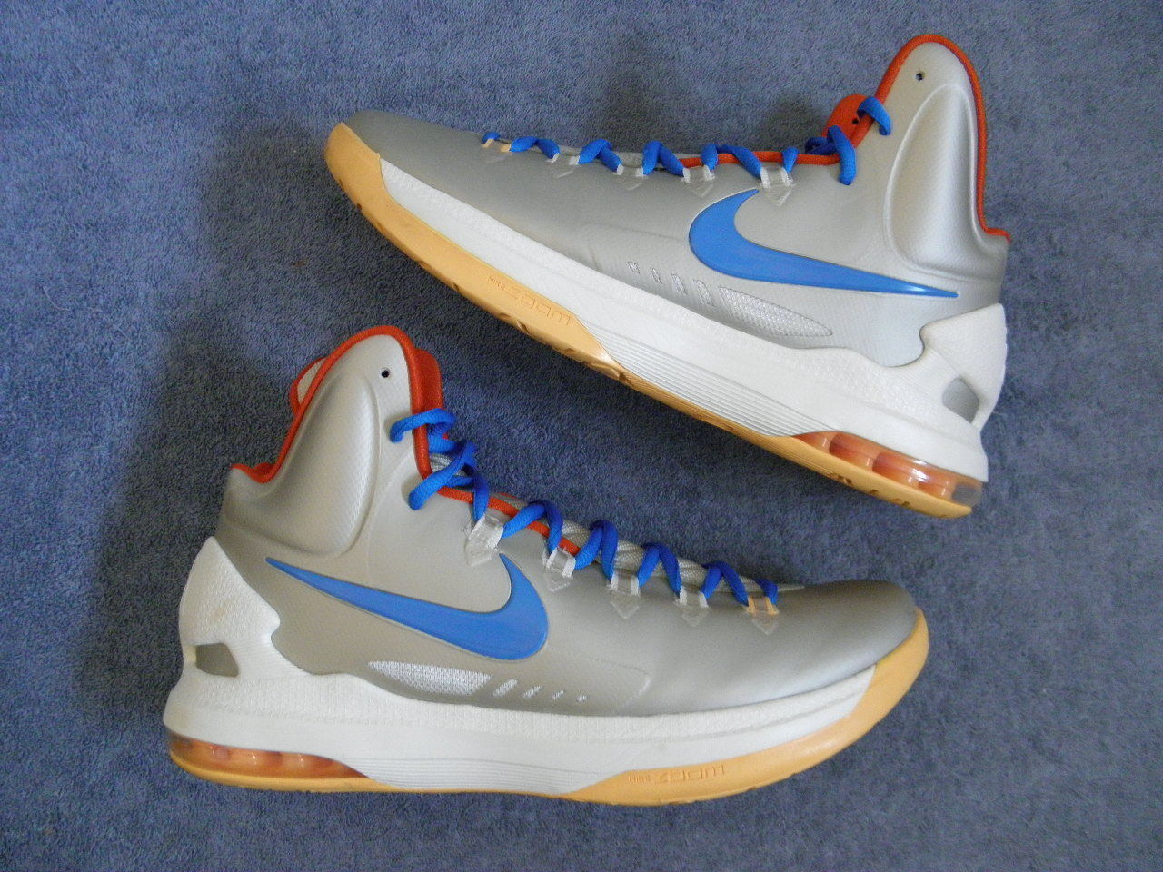 Nike Air KD5 KD 5 V Taille Kevin 11 VNDS worn 1x Kevin Taille Durant eybl peach jam elite BIRCH 1f19f9