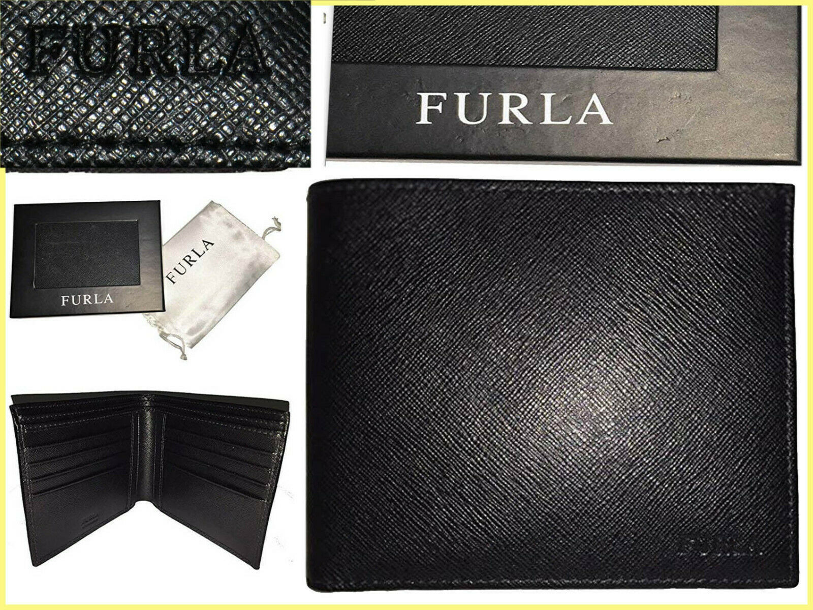 Furla wallet man leather 100% 110! here! less fu01 n1p
