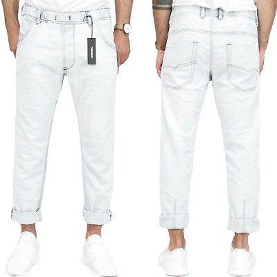 Suche Nach FlüGen Diesel Herren Jogg-jeans | Krooley-ne | Weiß | Knöchellang | W28-w34 |uvp*249€ Schrecklicher Wert