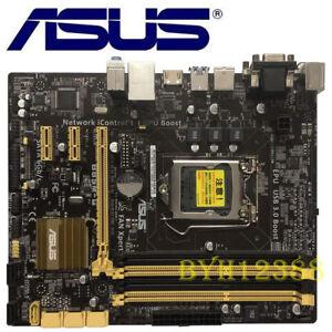 Asus B85M-G/CSM/SI Micro ATX DDR3 LGA 1150 Motherboard I/O