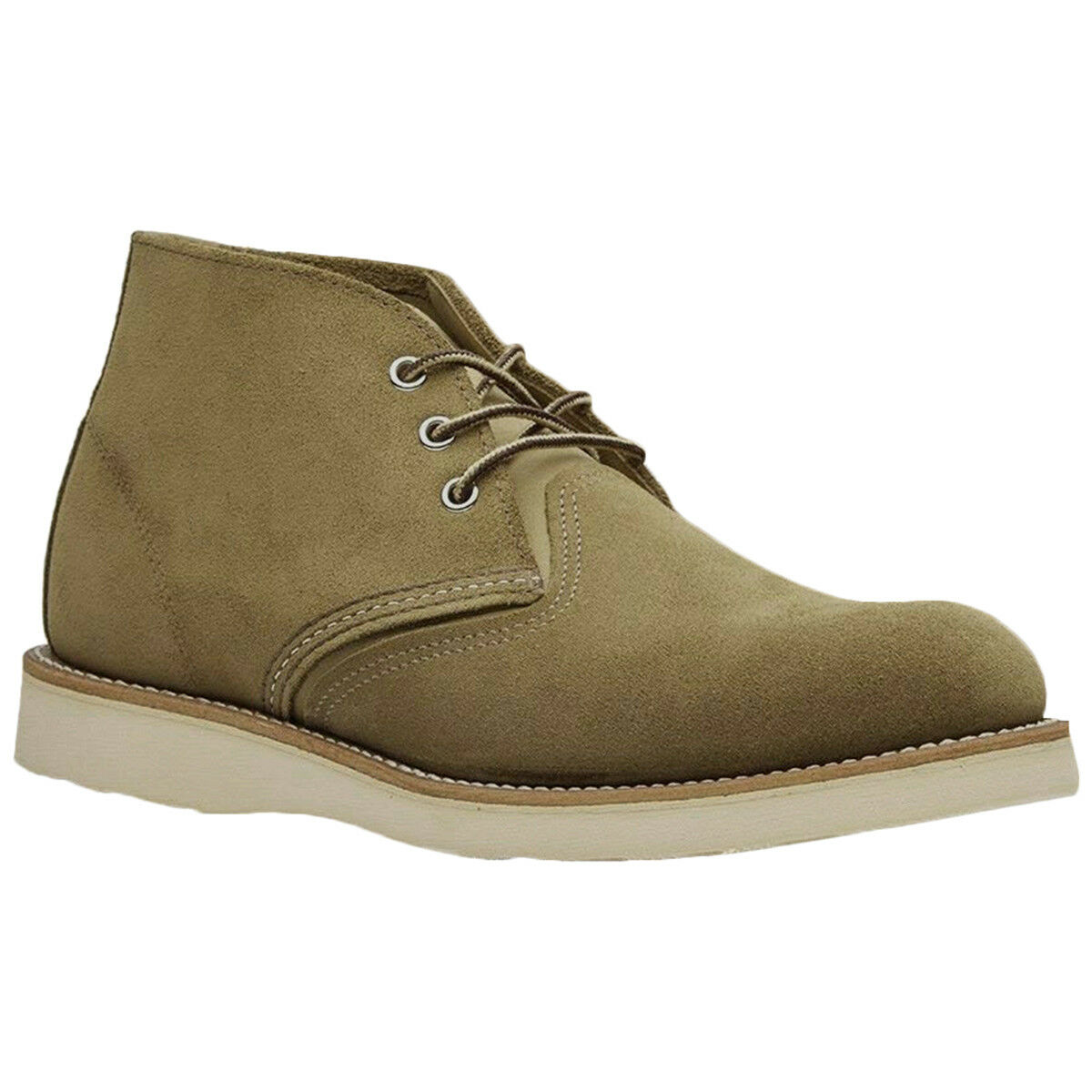 rot Wing Classic Chukka Leder Casual Lace-Up Ankle Herren Stiefel