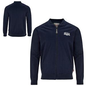 Lonsdale-Navy-Blue-Borgue-Monkey-England-Style-Wind-Jacket-100-Cotton-Slim-Fit