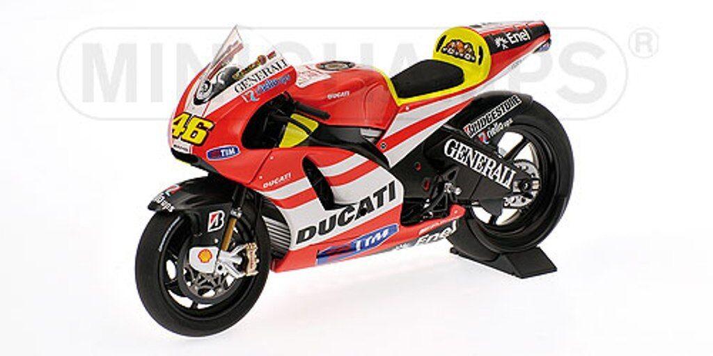 Minichamps 122 100146 Ducati Desmosedici Modelo mostrar Bicicleta v Rossi 2011 Ltd 1 12th