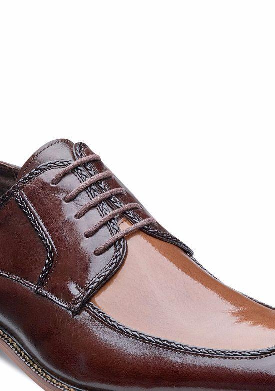 Stacy Adams - Bramwell Tan Multi 2-Tone Buffalo Leather Shoe - Adams MSRP  90 4ead82