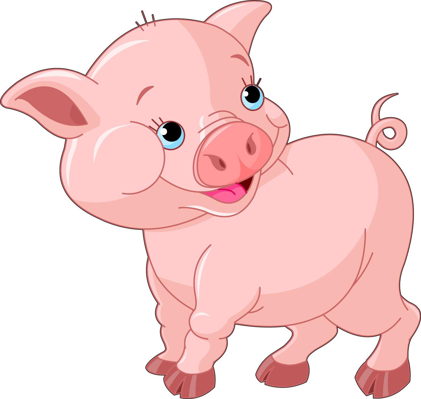 Aufkleber Kind Schwein Ref 2614 (Abmessungen der 10 cm 130 cm Höhe)