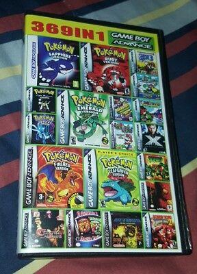 369 in 1 Multicart GBA Game Boy Advance SP Pokemon Mario DK SHIPS FAST    eBay