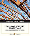 College Writing Essentials: Rhetoric, Reader, Research Guide, and Handbook by David Skwire, Harvey S. Wiener (Paperback, 2007)