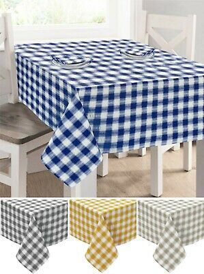 """Small Green Seersucker Tablecloths  36"""" x 36"""" Square  100/% Cotton Best Quality"""