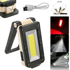 Rechargeable Led Work Light Magnetic Cob Lamp Flashlight Inspection Light Torch