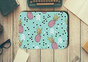 Pineapples Mouse Pad Easy Glide Non Slip Tough Neoprene Christmas Gift Ideas